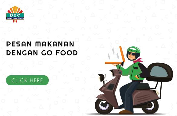 Cara Memesan Makanan Pojok Kuliner DTC Melalui Aplikasi Go-Food