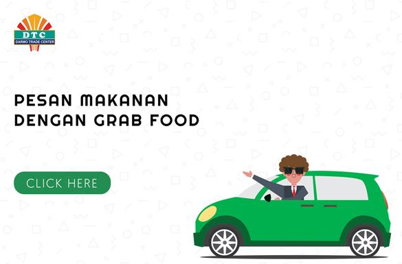 Cara Memesan Makanan Pojok Kuliner DTC Melalui Grab-Food