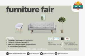 Promo Menarik Furniture Fair DTC Wonokromo