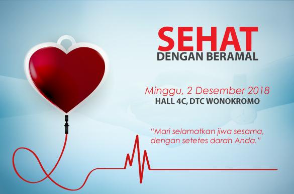 Donasikan Darahmu Bersama Donor Darah Hadasa di DTC Wonokromo