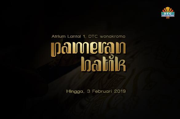 Pameran Batik dan Fashion DTC Wonokromo