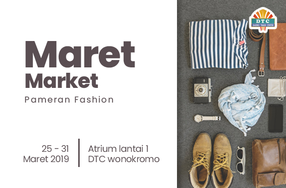 Pameran Maret Market DTC Wonokromo