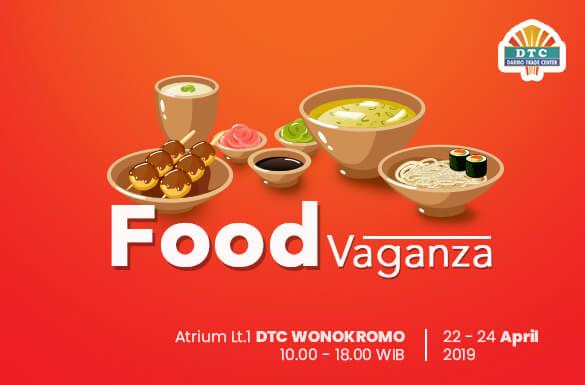 "Food Vaganza ""Jajanan Suroboyo"" DTC Wonokromo"