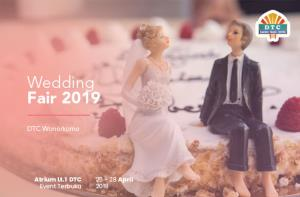 Wedding Fair 2019 DTC Wonokromo Surabaya