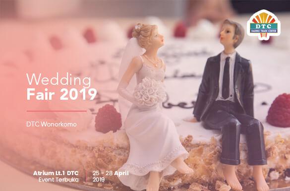Wedding Fair 2019 DTC Wonokromo Surabaya
