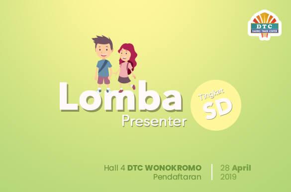 Lomba Presenter Tingkat SD di Surabaya