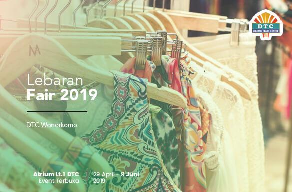 Lebaran Fair 2019 DTC Wonokromo