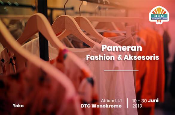 Pameran Fashion & Aksesoris DTC Wonokromo