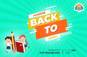 Back to School Fair DTC Wonokromo