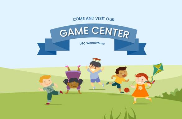 Ajak si Kecil Bermain di Game Center Anak DTC Wonokromo