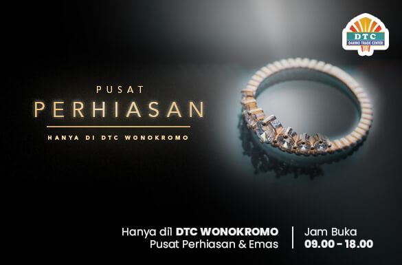 Pusat Perhiasan dan Emas, Ragam Aksesoris Emas Terlengkap di DTC Wonokromo