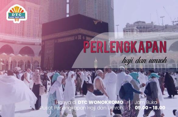 Pusat Perlengkapan Haji dan Umroh, Ragam Kebutuhan Ibadah Haji Terlengkap di DTC Wonokromo