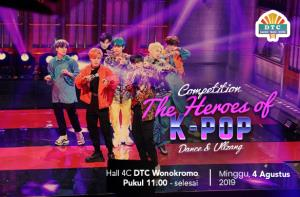 The Heroes of K-Pop Competition