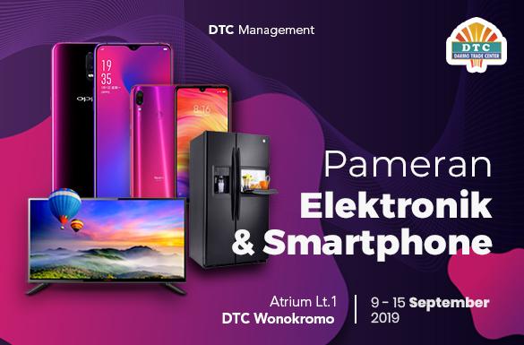 Pameran Elektronik dan Smartphone DTC Wonokromo