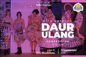 Miss Fashion Daur Ulang 2019 Competition