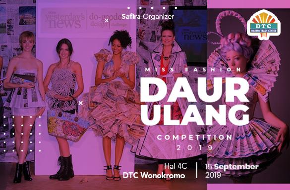 Miss Fashion Daur Ulang 2019 Competition