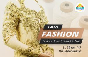 Fath Fashion, Destinasi Utama Custom Baju Jahit/Bordir Anda