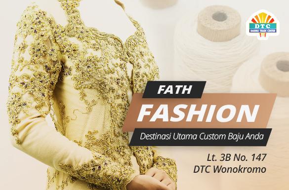 Fath Fashion, Destinasi Utama Custom Baju Jahit/Bordir Anda
