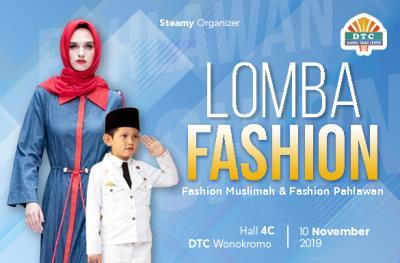 Lomba Fashion Muslim dan Fashion Pahlawan DTC Wonokromo