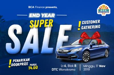 "Customer Gathering Mobil Bekas ""End Year Super Sale"""