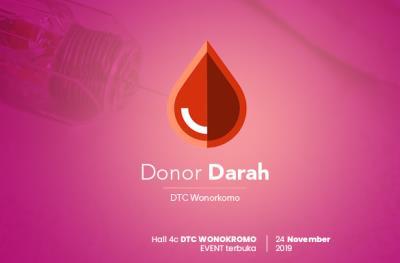 Datang dan Donasikan Darahmu untuk Sesama