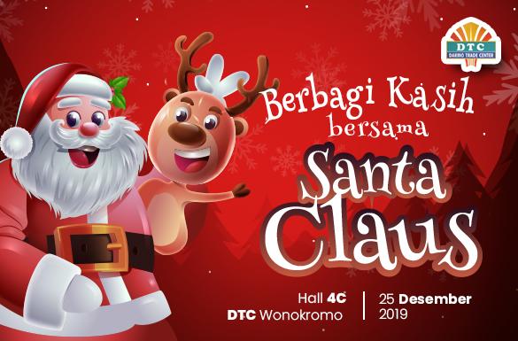 Berbagi Kasih di Hari Natal bersama Santa Claus