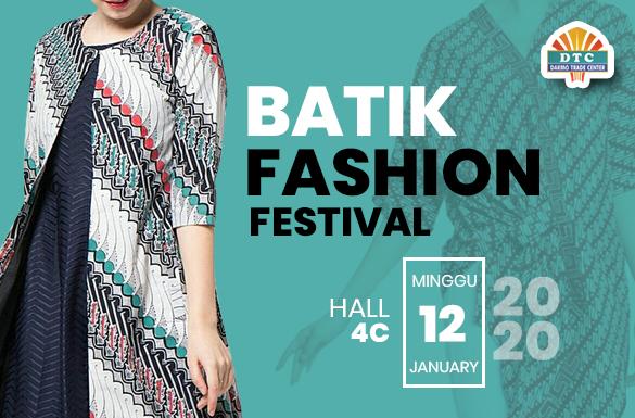Batik Fashion Festival DTC Wonokromo