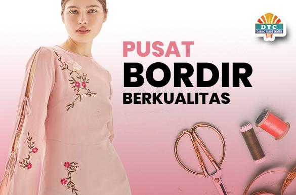 Pilihan Jasa Bordir Berkualitas di DTC Wonokromo Surabaya