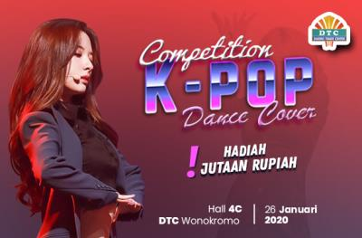 K-Pop Dance Cover Competition DTC Wonokromo