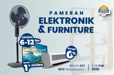 Pameran Elektronik dan Furniture Februari 2020