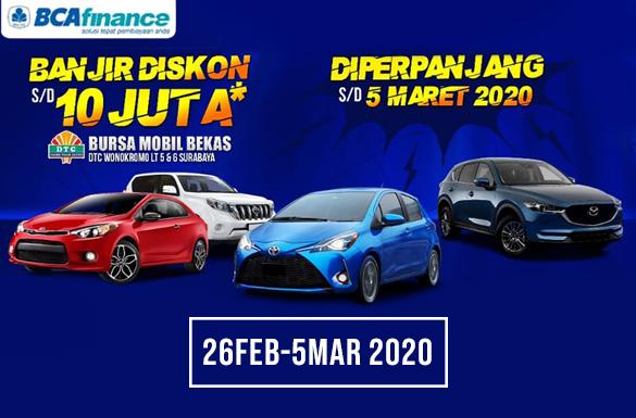 Gebyar Bursa Mobil Bekas DTC Wonokromo!