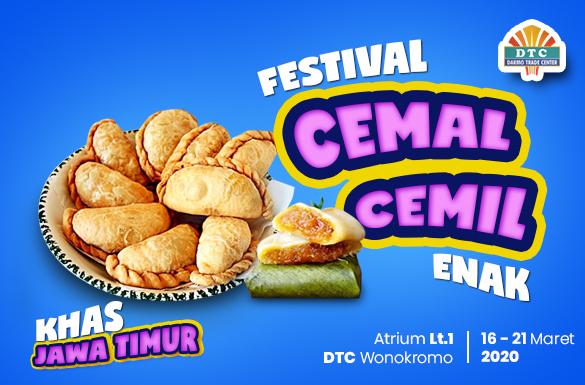 Festival Cemal Cemil Enak di DTC Wonokromo
